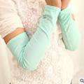 韓版抗UV彈力防曬袖套(白色)