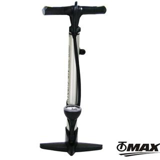 omax直立式高壓打氣筒附胎壓表