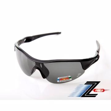 【視鼎Z-POLS專業帥氣偏光款】消光霧面黑 搭強化寶麗來頂級偏光 強抗UV運動眼鏡!