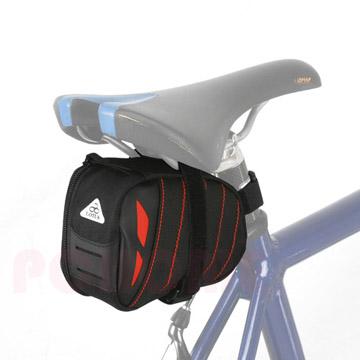 *阿亮單車*LOTUS 自行車方形綁帶式坐墊袋 (SH6-114),紅色《C84-184-R》