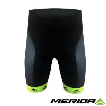 《MERIDA》美利達 短車褲 黑/綠