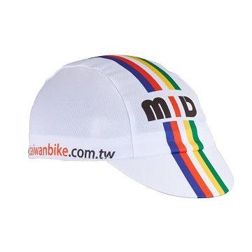 【NORD】加拿大品牌 NORD 公路車專用小帽-(MID)-彩虹白
