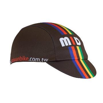 【NORD】加拿大品牌 NORD 公路車專用小帽-(MID)-彩虹黑