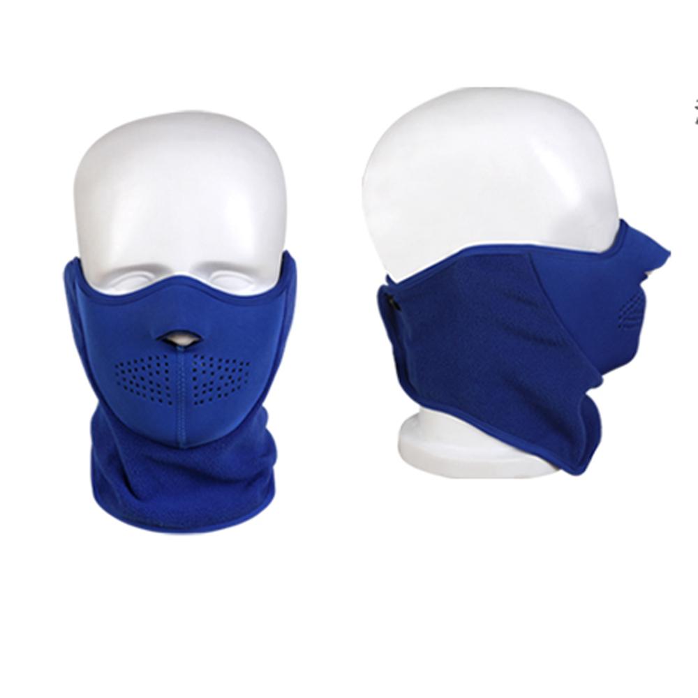 PUSH!自行車用品 防風型自行車圍脖護臉雙用面罩H18