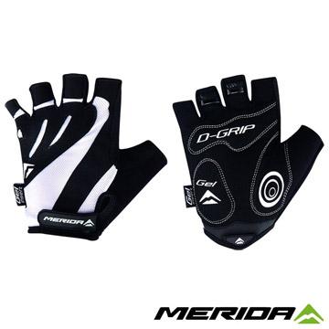 《MERIDA》美利達 短手套 黑/白 S~XXL