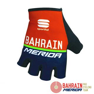 《Bahrain Merida》巴林 美利達 車隊版自行車短指手套
