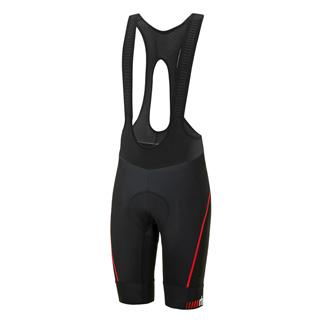 ZeroRH+ 義大利專業 Absolute AirX 男仕競賽級吊帶自行車褲(黑/紅) ECU0517_930