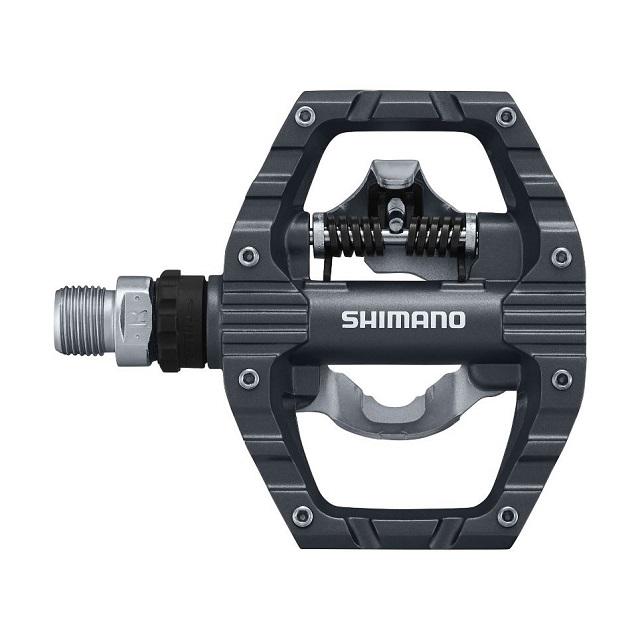 【SHIMANO】PD-EH500 登山車 SPD EXPLORER 踏板▼一側SPD,另一側平坦▼