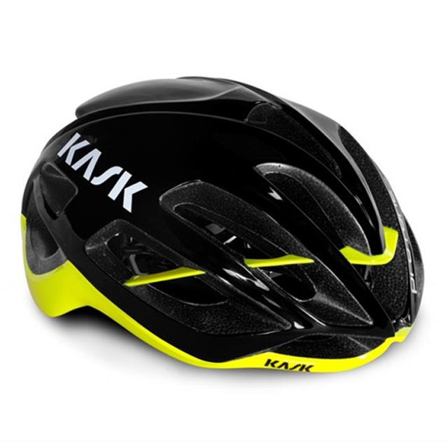 【KASK】PROTONE BLACK/YELLOW FLUO 自行車公路騎行安全帽