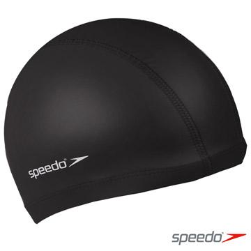 SPEEDO 成人 合成泳帽 Pace 黑-加價購