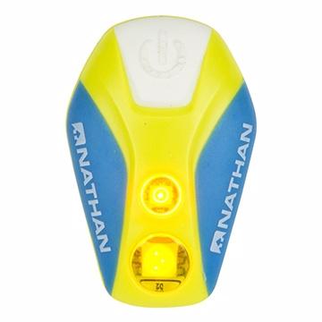 NATHAN 脈衝星LED防水炫光夾Pulsar Strobe 藍|慢跑|路跑|夜跑 5077nu
