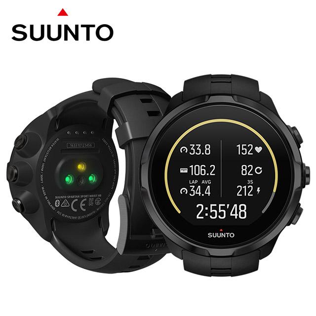 SUUNTO Spartan Sport Wrist Black HR彩色觸控運動鍛鍊多項目運動腕式心率GPS腕錶