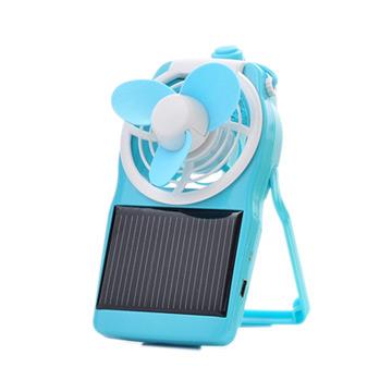 SOLAR POWER FAN COOL 炫 太陽能轉彎風扇 (USB適用/藍色)