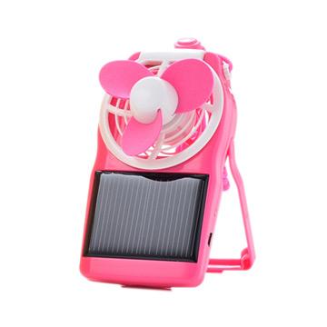 SOLAR POWER FAN COOL 炫 太陽能轉彎風扇 (USB適用/粉紅色)