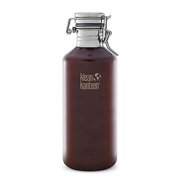 美國Klean Kanteen快扣不鏽鋼瓶1182ml-深琥珀