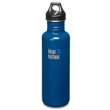 美國Klean Kanteen可利不鏽鋼瓶800ml-地球藍