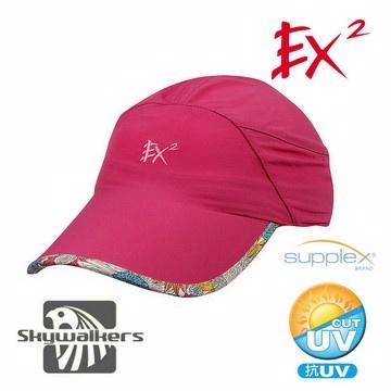 EX2 排汗棒球帽(桃紅)