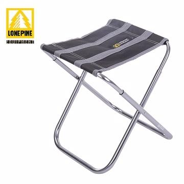【澳洲LONEPINE】超輕量七彩繽紛折疊椅/板凳/戶外椅/休閒椅(黑色)