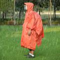 PUSH! 戶外休閒登山用品三合一功能雨衣 天幕棚布 地防墊潮墊 P62