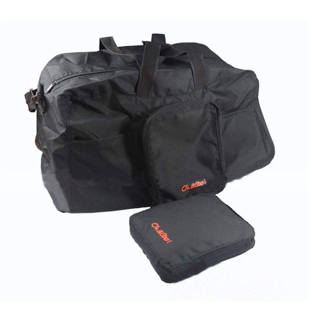 PUSH!可折疊便攜式 旅行包 萬用旅行袋 提袋 收納袋U17-1寶藍