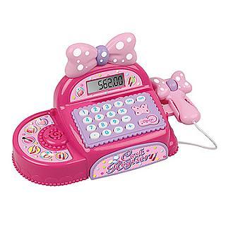 【家家酒玩具】音效粉紅蝴蝶結收銀機 35562
