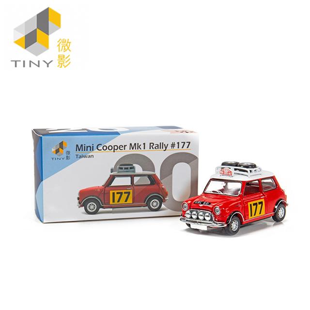 [Tiny] Mini Cooper Mk1 Rally #177 TW20 (可開式車門及引擎蓋)