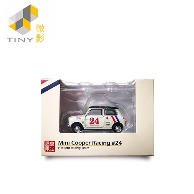[Tiny] Mini Cooper Hesketh Racing #24 (展會限定) (附:收納盒1個、可開式車門及引擎蓋)