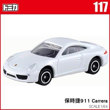 TOMICA 多美小汽車NO.117 保時捷911 Carrera