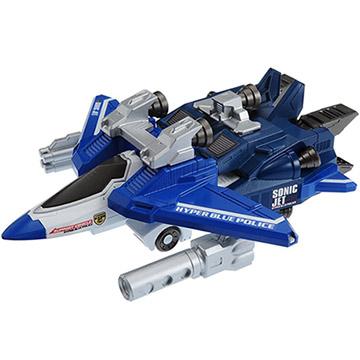 變形機器人 藍色特警飛機