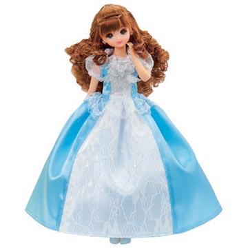 TAKARA TOMY 薇琪娃娃派對禮服-天空藍