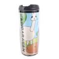 kapibarasan 水豚君我愛生活系曲線杯。水豚夥伴
