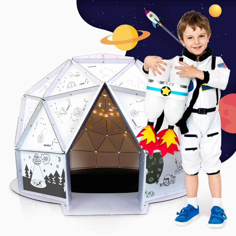 韓國ANBOX趣玩紙屋--我的小小星空屋