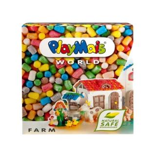 德國 Playmais 玩玉米創意黏土主題禮盒-農場假期