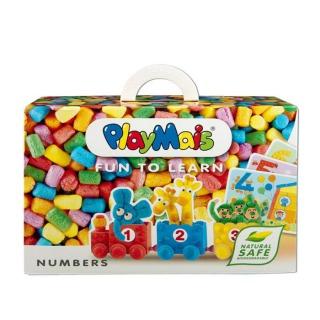 德國 Playmais 玩玉米創意黏土趣味學習盒-數字