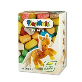【德國 Playmais】玩玉米創意黏土小巧盒-馬