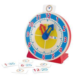 【美國瑪莉莎 Melissa & Doug】學習認知時鐘