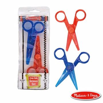 【美國瑪莉莎 Melissa & Doug】兒童專用塑膠安全剪刀組合包