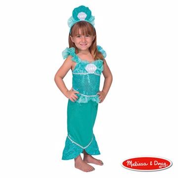 美國瑪莉莎 Melissa & Doug 美人魚服裝扮遊戲組