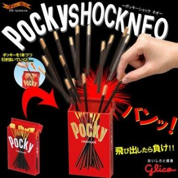 日本Megahouse 固力果glico Pocky 整人棒派對整人玩具