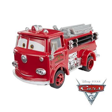 Cars 汽車總動員3-大型運輸車-Cast Vehicle-Red