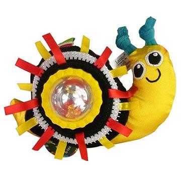 Lamaze拉梅茲嬰幼兒玩具 - 轉轉小蝸牛搖鈴