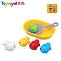 日本《樂雅 Toyroyal》洗澡玩具【撈魚組】