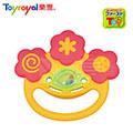日本《樂雅 Toyroyal》牙膠微笑搖鈴