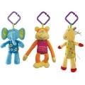 【Baby Joy 小玩童】: Taf Toys World Music Dolls 手推車上的音樂動物