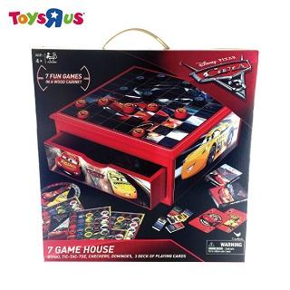 玩具反斗城 汽車總動員 Cars 3 綜合桌遊遊戲