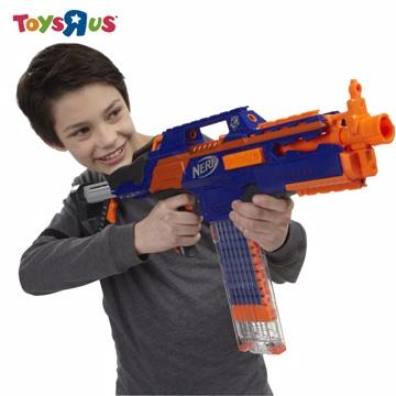 玩具反斗城 NERF 速擊連發機關槍CS-18