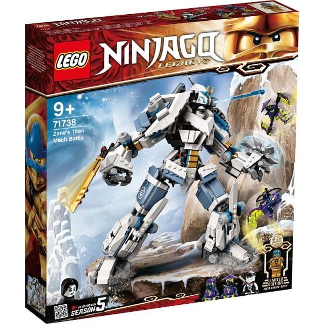 玩具反斗城 LEGO樂高 71738 冰忍的鈦機械人之戰