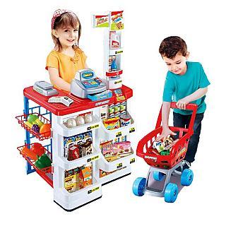 【Amuzinc酷比樂】家家酒系列玩具/聲光仿真超市收銀台 668-01