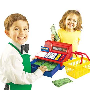 【華森葳兒童教玩具】扮演角系列-科技收銀機二代 N1-2629