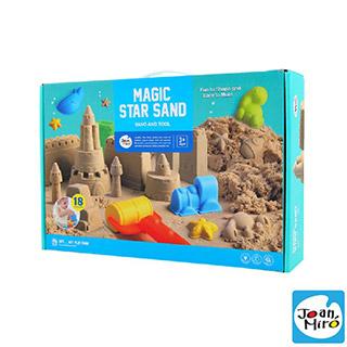 【西班牙 JoanMiro 原創美玩】魔力星空沙套裝組(模具組+1KG星空沙x2)